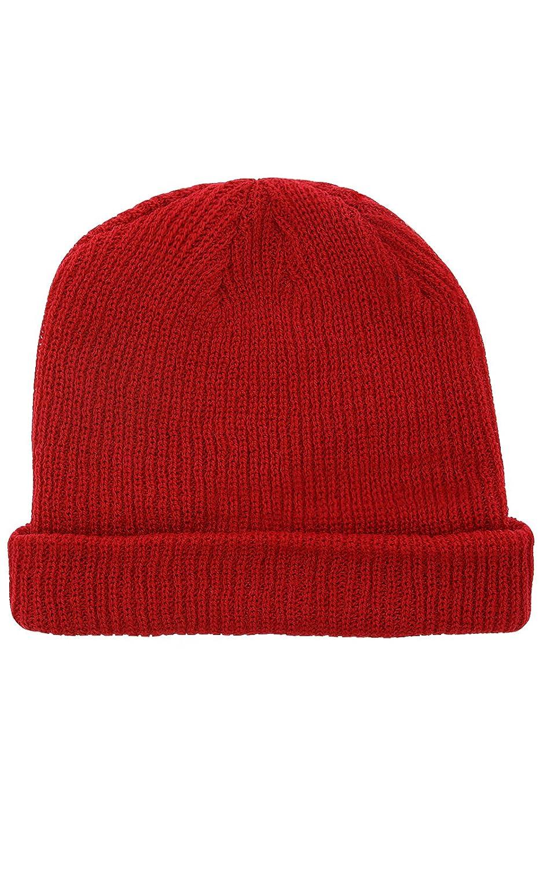 91669372a72970 Sweet SKTBS Ribbed Beanie Mütze Strick-Mütze Winter-Mütze Rot im RIPP-Stil:  Amazon.de: Bekleidung