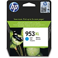 HP F6U16AE (953XL) Cyan Yüksek Kapasiteli Mürekkep Kartuş 1.600 Sayfa