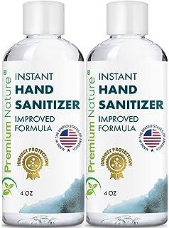 Antibacterial Hand Gel Pump Bottle Amazon Co Uk Health