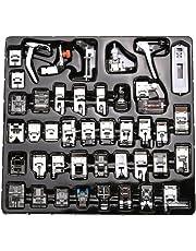 icase4u® Kit de 42 Piezas Multifuncional Prensatelas Accesorios para Máquina de Coser Presser Foot Feet