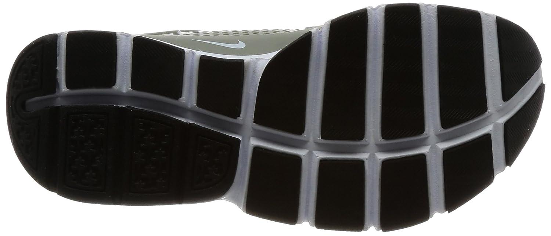 size 40 ee9eb b71c7 Amazon.com   Nike Sock Dart Women s Running Shoes Dark Stucco White-Black  848475-005   Road Running