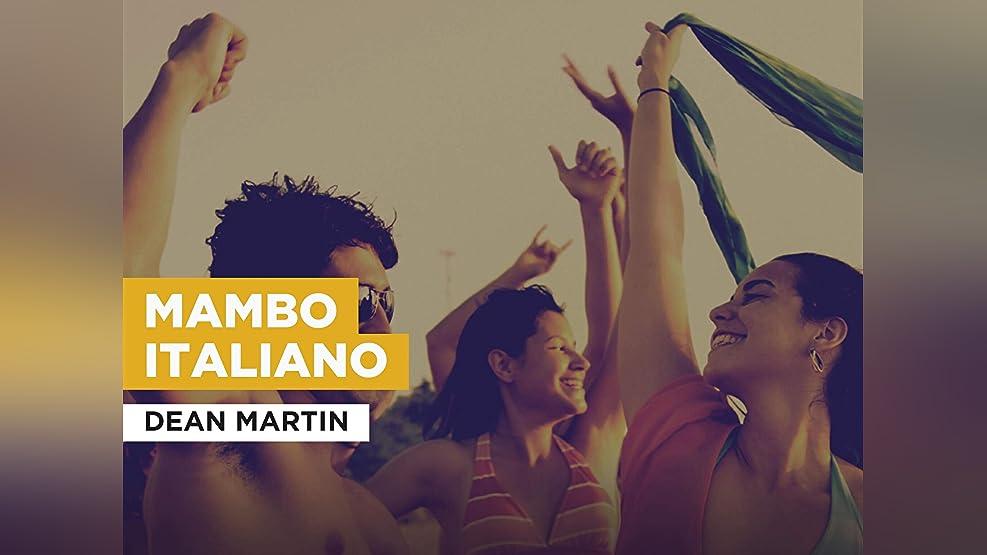 Mambo Italiano im Stil von Dean Martin