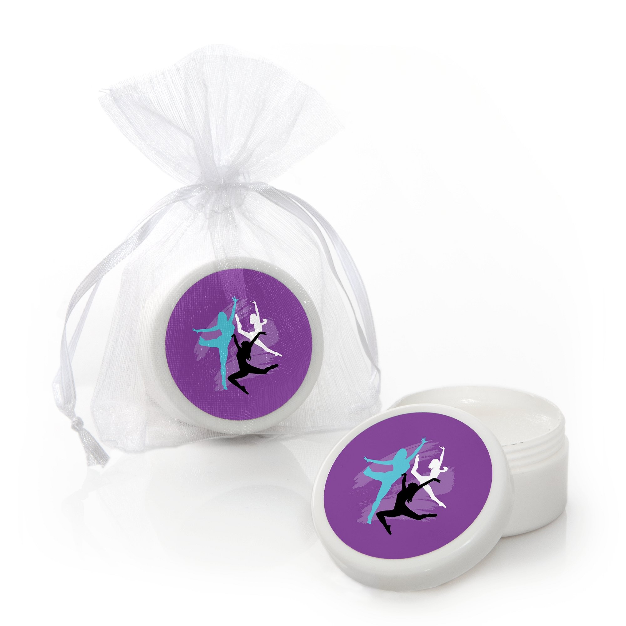 Big Dot of Happiness Must Dance to the Beat - Dance - Lip Balm Dance Party or Birthday Party Favors - Set of 12