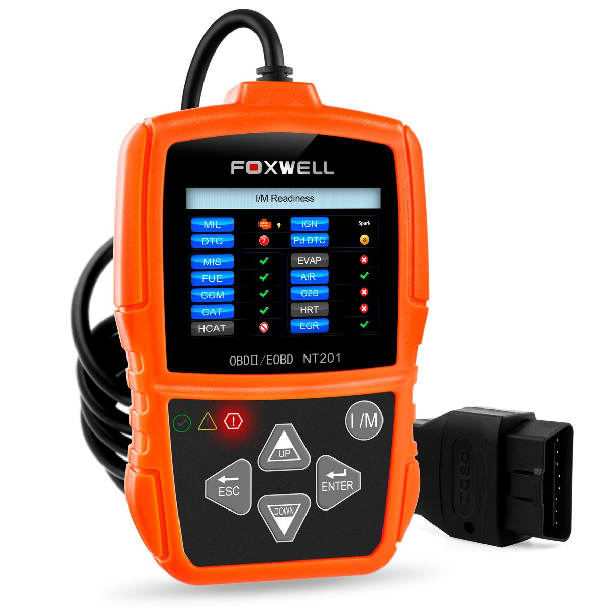 REVIEW Foxwell NT201 OBD II Auto Code Scanner For Audi A1