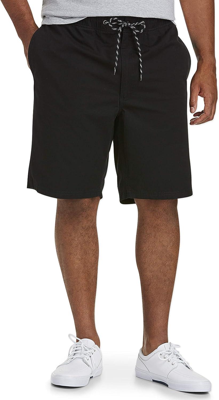 Essentials Mens Big /& Tall Drawstring Walking Shorts fit by DXL