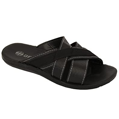 6c4d561a83d Men s Gezer Flip Flops JAMES2 Black UK 9  Amazon.co.uk  Shoes   Bags