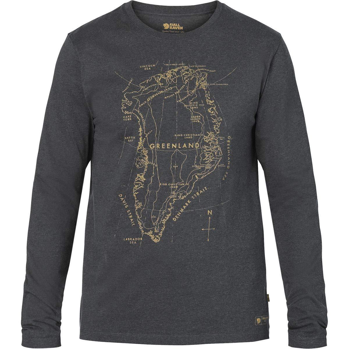 Fjällräven Grünland Printed Longsleeve Shirt Men - Longsleeve