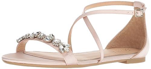 33cfda15ebcf Badgley Mischka Womens Tessy Flat Sandal  Amazon.ca  Shoes   Handbags