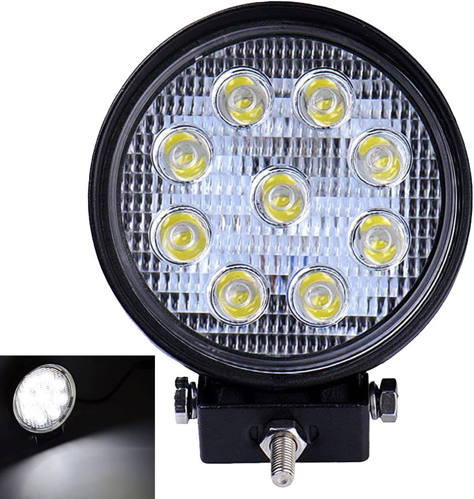 DC 12-24V Leetop 20 Inch 126W Spot Led work Light Bar Fog Day Driving Lamp for OffRoad UTE SUV ATV 4WD Boat 42 x 3W LEDS