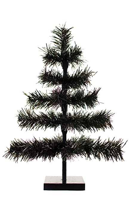 Amazon Com 48 Black Christmas Trees Artificial Halloween Indoor