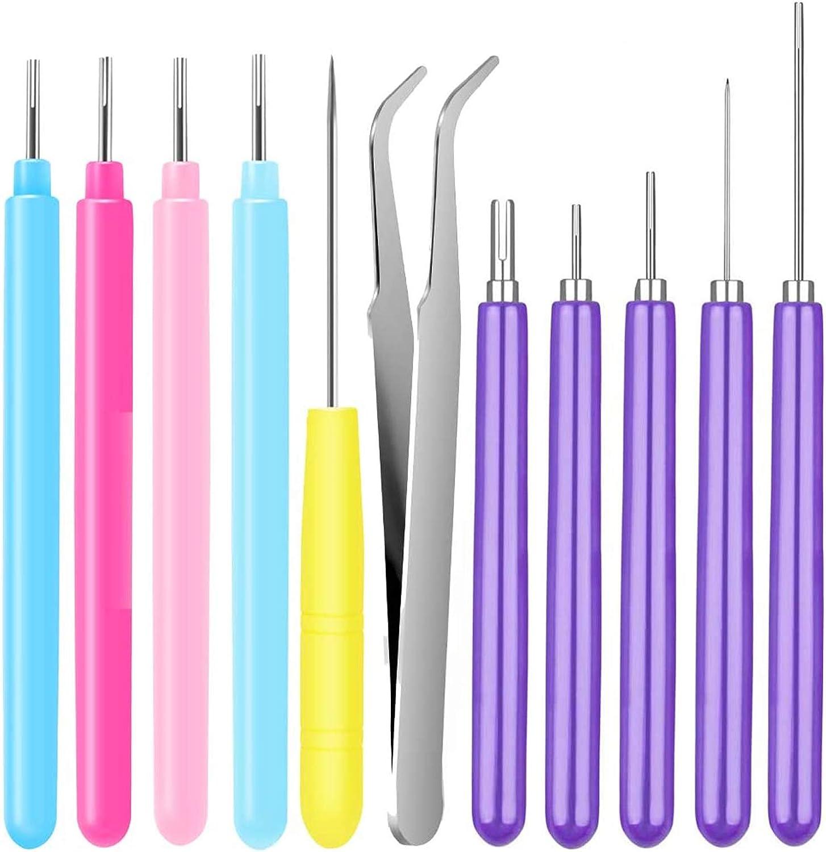 5 Piezas de Papel Quilling Tools Quilling Slotted Tool Multifunci/ón Rolling Curling Quilling Needle Pen para Manualidades art/ísticas Flores de Papel de Bricolaje Proyecto de fabricaci/ón de Tarjetas