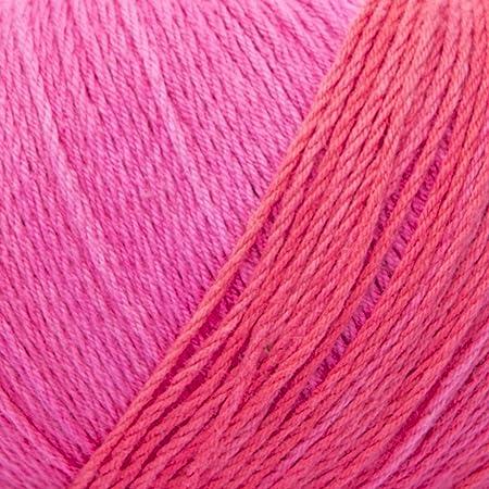 ggh Calypso - 003 - coral rosa - Algodón con gradiente de color para tejer y hacer ganchillo: Amazon.es: Hogar