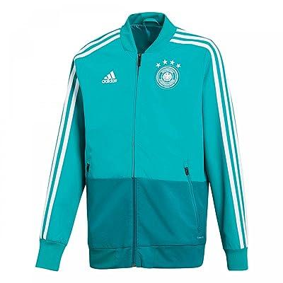 2018-2019 Germany Adidas Presentation Jacket (Green) - Kids