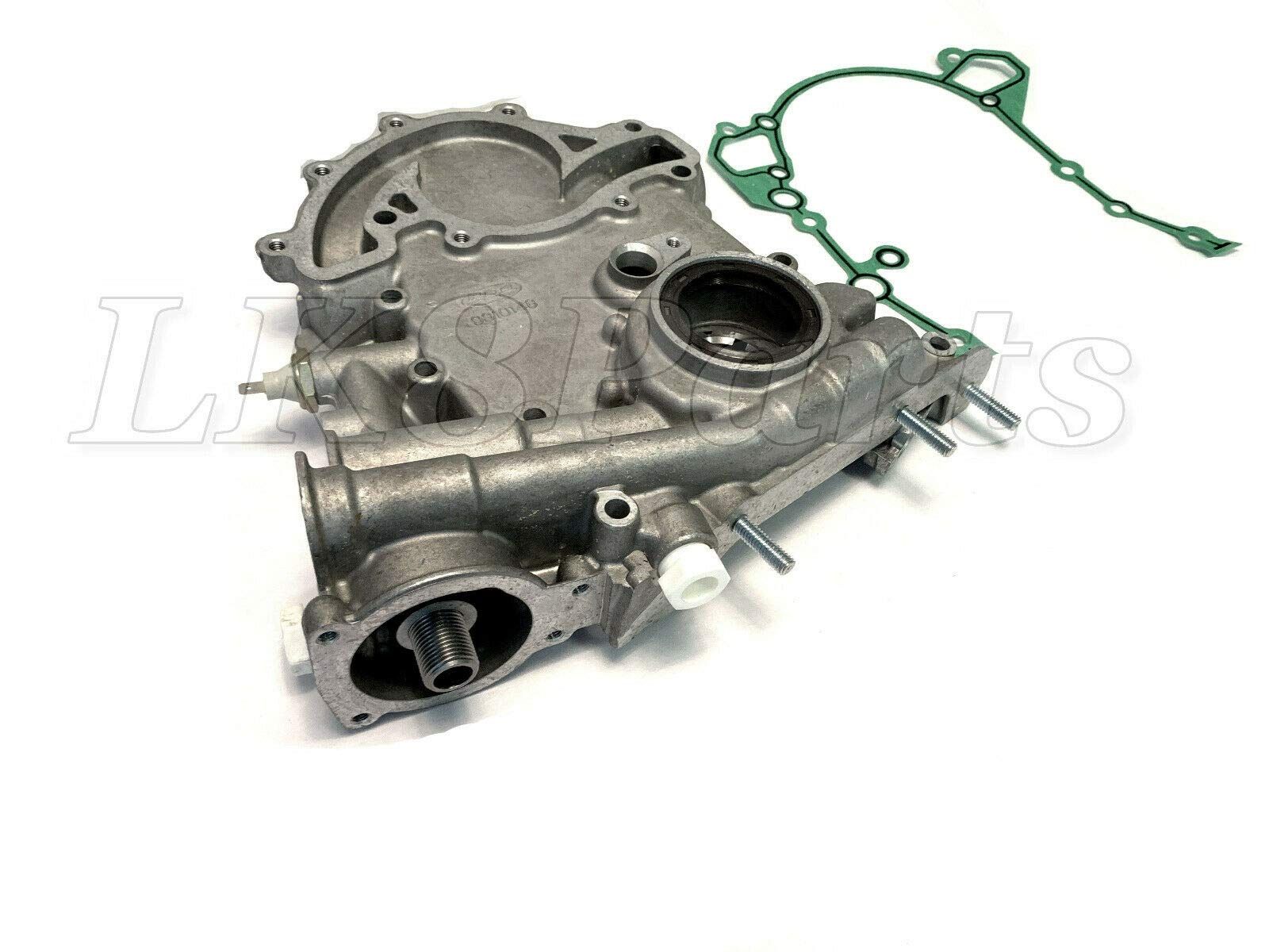 RANGE ROVER P38 95-99 DISCOVERY OIL PUMP FRONT ENGINE COVER W/GASKET ERR6438 by Proper Spec (Image #2)