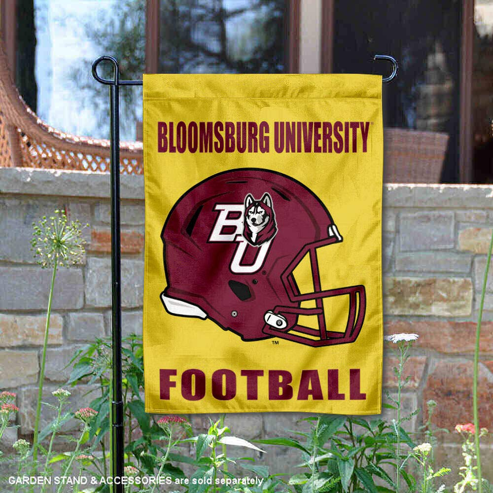 Bloomsburg University Football Helmet Garden Flag College Flags and Banners Co