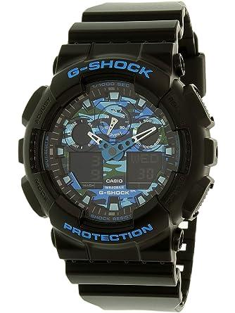 48b5780e1 Amazon.com: G-Shock Unisex GA-100CB-1ACR Black Watch: Casio: Watches