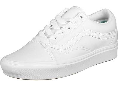 Vans Old Skool ComfyCush Sneaker Herren grau weiß im