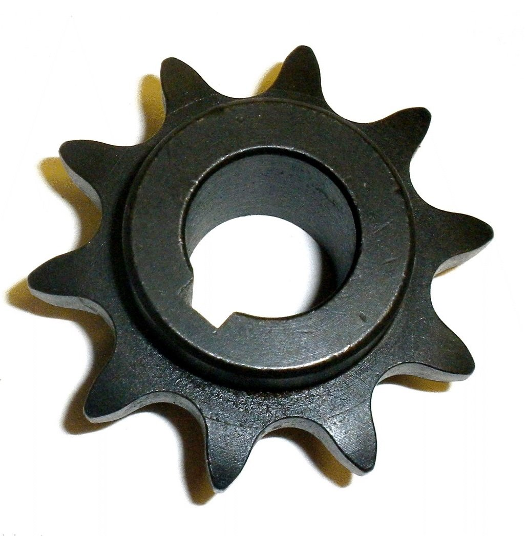 2181 Azusa 10 Tooth 41 Pitch 5/8' Bore Go Kart Sprocket Gear