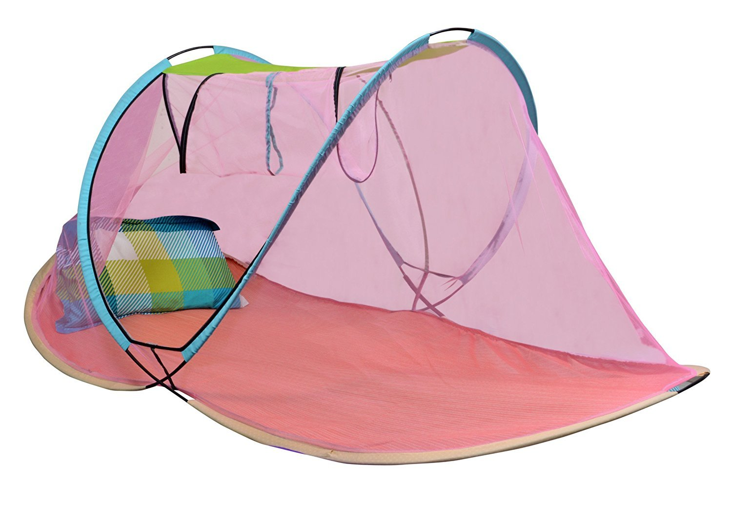 AmazingHind Mosquito Net.Foldable Mosquito Net for Single Bed (Multi Color) product image