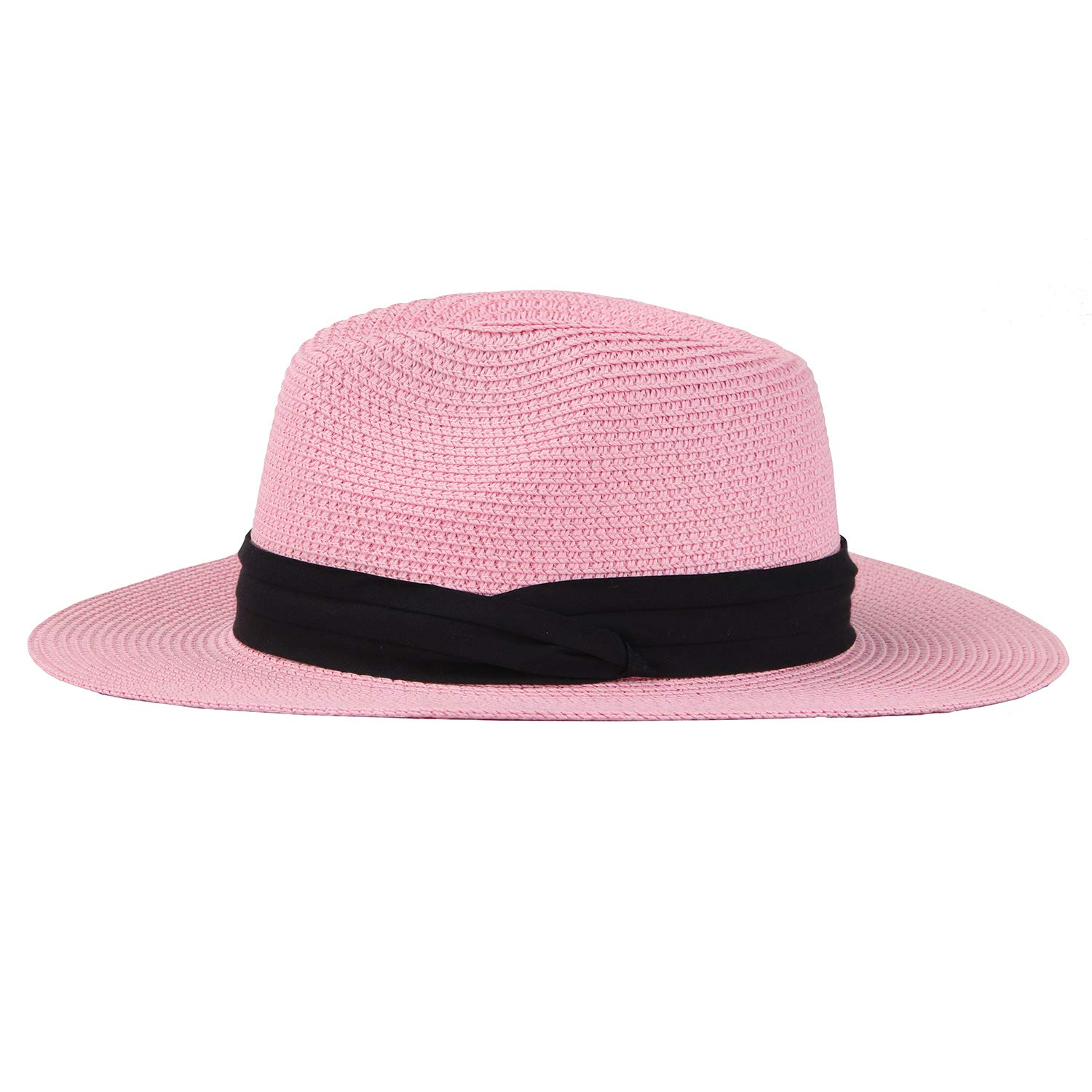 UPF Taylormia Panama Hat for Women Sun Hat for Summer UV Protection Foldable Straw Hat 50