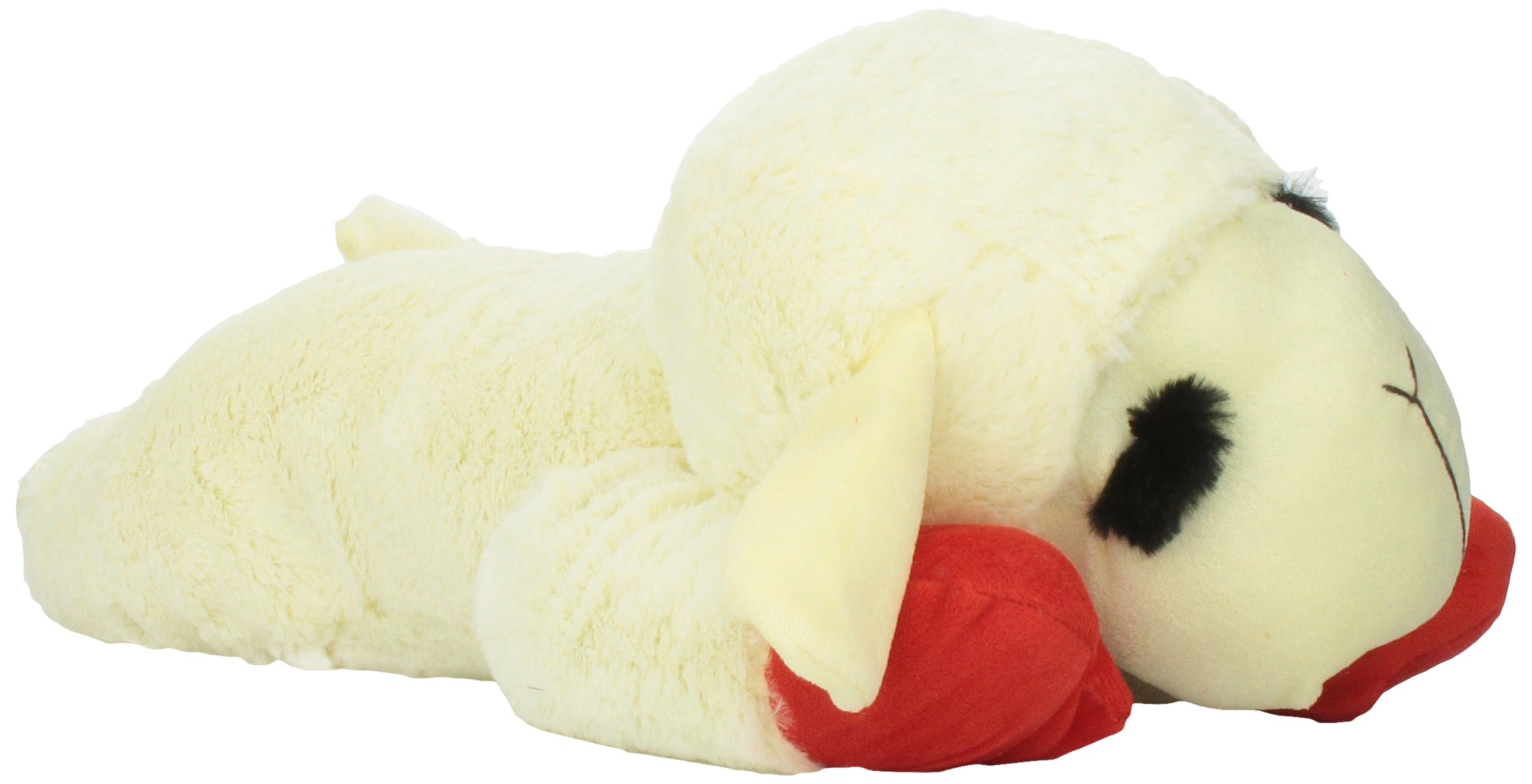 Multipet 48388 Officially Licensed Lamb Chop Jumbo White Plush Dog Toy, 24-Inch by Multipet (Image #4)