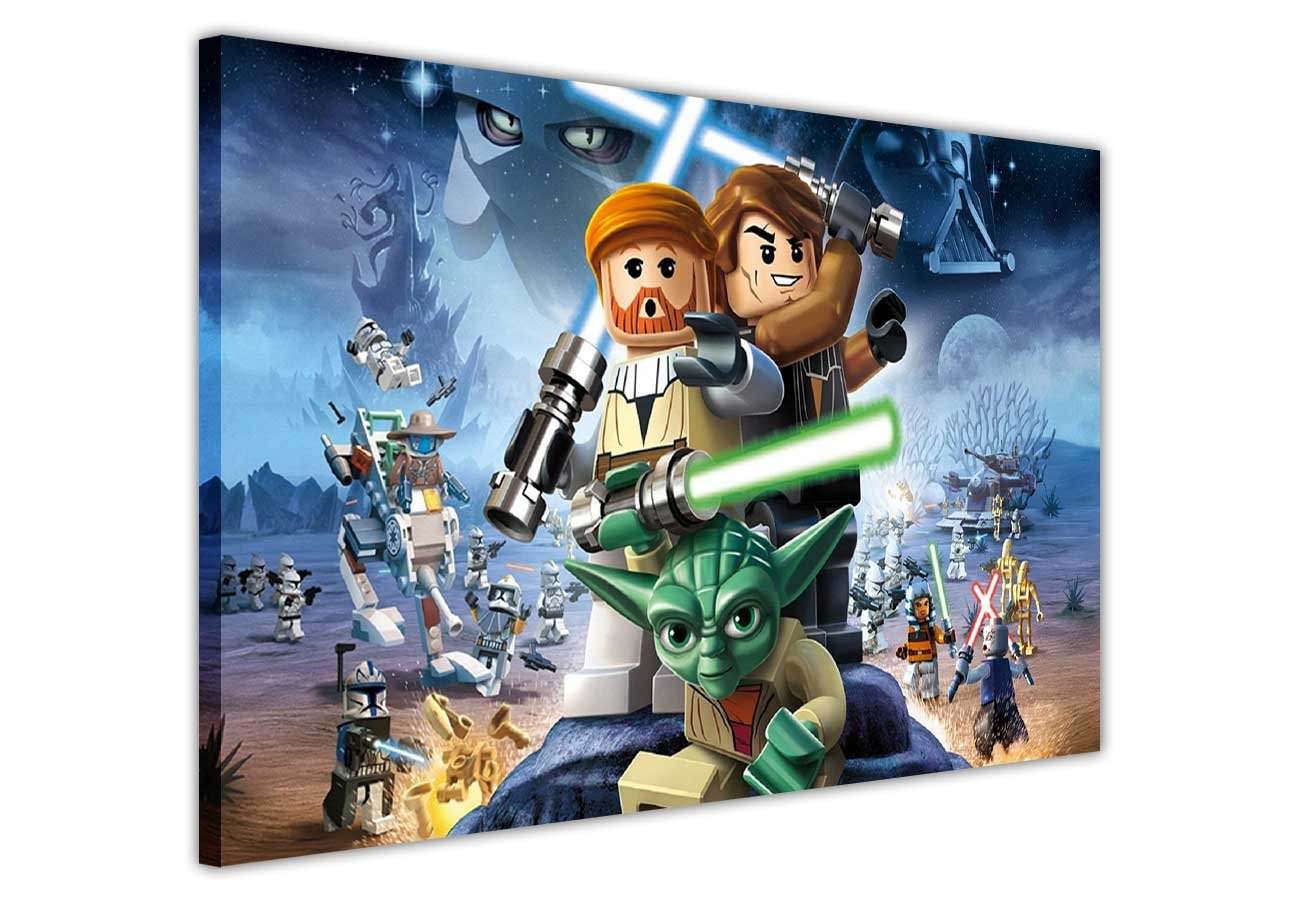 Lego star wars canvas wall art prints pictures room decoration lego star wars canvas wall art prints pictures room decoration poster print pop art picture hollywood photo printing amazon kitchen home amipublicfo Gallery