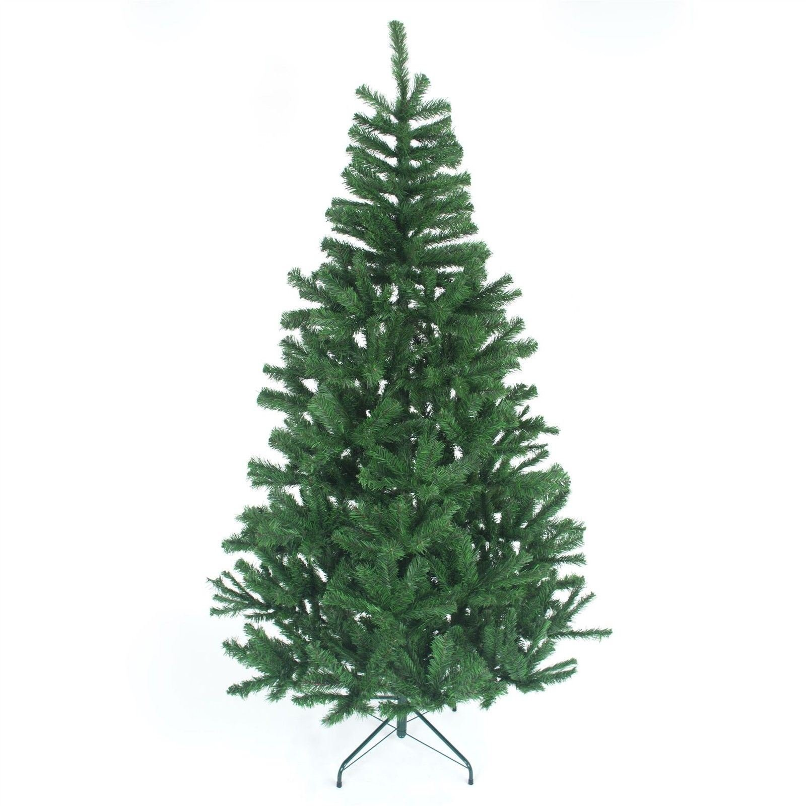GIFT 4 ALL OCCASIONS LTD 2.1m Christmas Tree GREEN 800 Pines Artificial Tree with Metal Stand