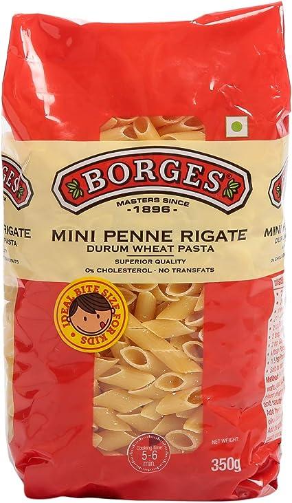 Borges Mini Penne Rigate Durum Wheat Pasta, 350g