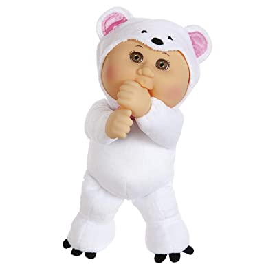 """Cabbage Patch Kids 9"""" Frost Polar Bear Zoo Cutie: Toys & Games"""