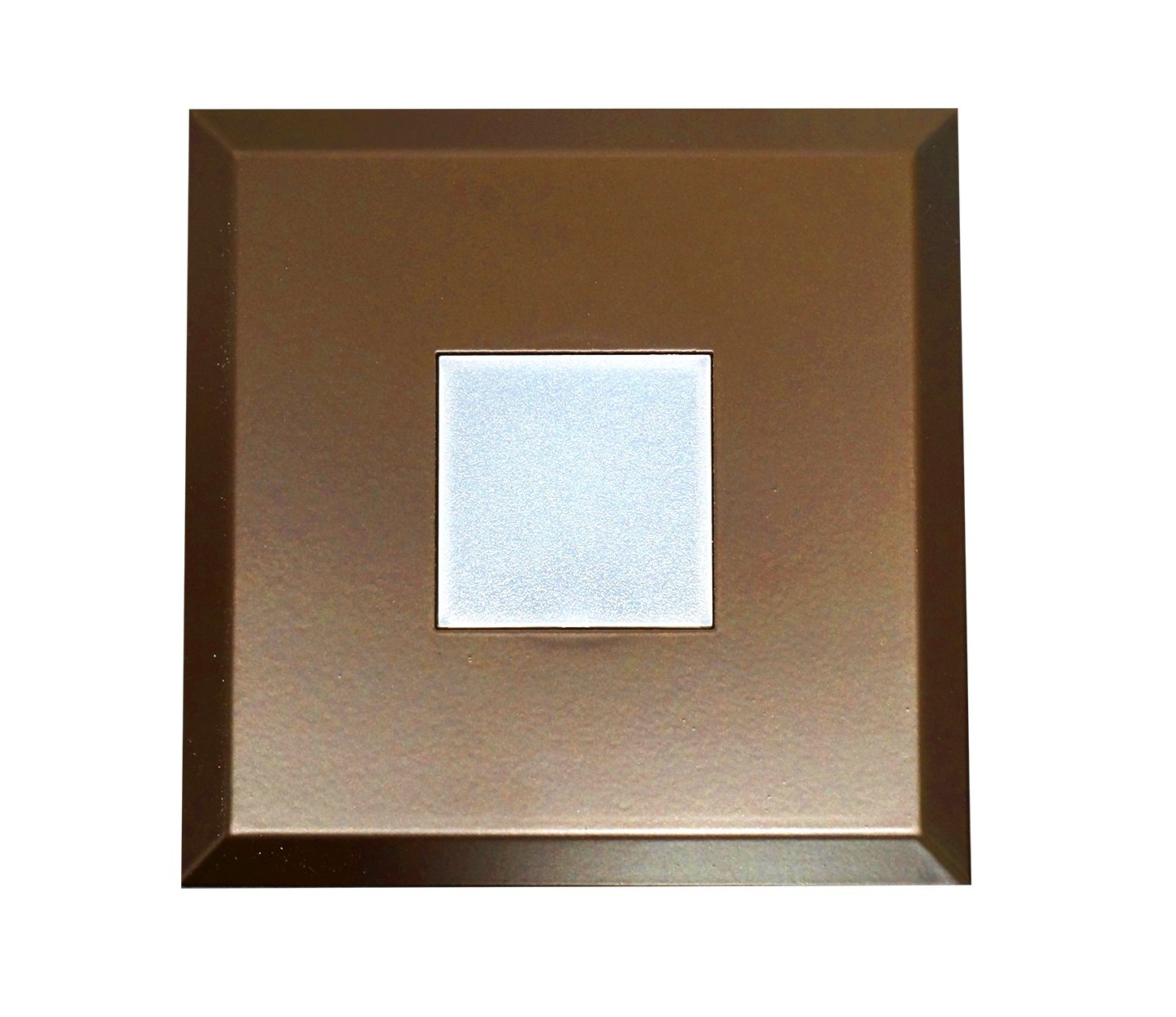 NICOR Lighting DLF SureFit Series Square Trim Plate, Oil-Rubbed Bronze (DLF-10-TRIM-SQ-OB)