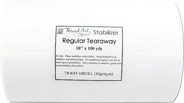 "Tearaway Embroidery Backing Stabilizer 28/"" x 100 yds 2.0 oz"