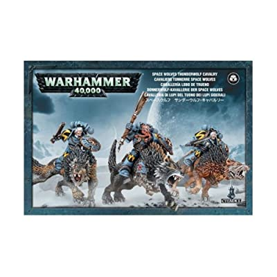 Games Workshop GW53-09 SPACE WOLVES THUNDERWOLF CAVALRY: Toys & Games