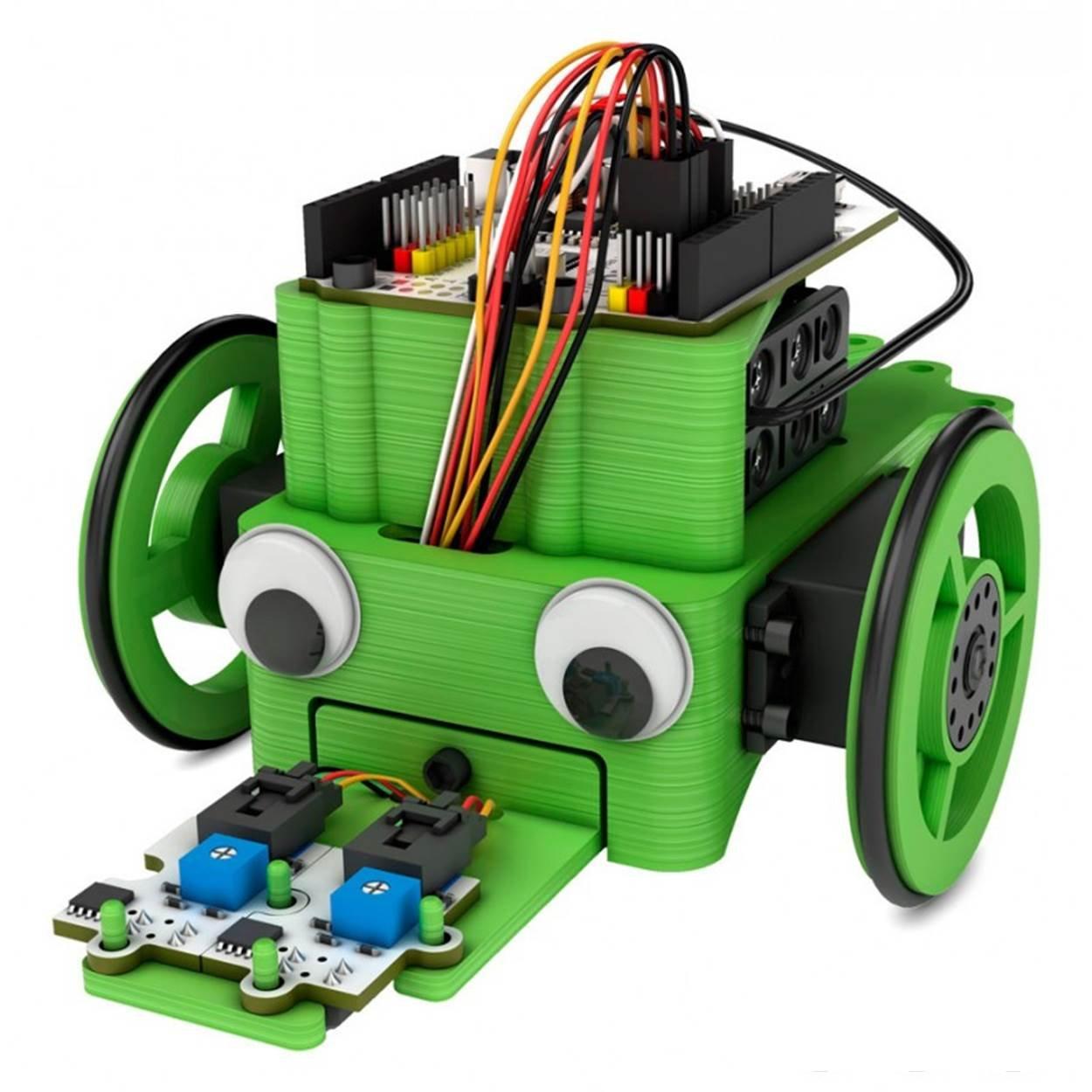 BQ PrintBot Solidario - Marco para kit de robótica, color verde ...