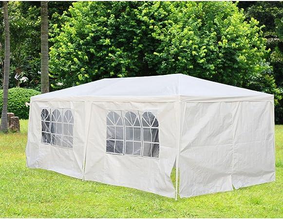 HENGDA® - Carpa de jardín de 3 x 6 m, de polietileno estable ...