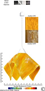 product image for Jezebel Radiance JRWH-FP16-AMB-TRWH White Flame Track Light, Large, Amber