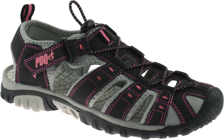PDQ - Sandalias de Vestir de sintético para Mujer Black/Pink