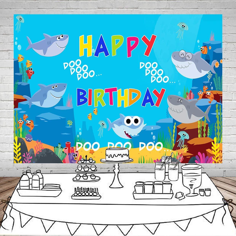 Amazon.com: Fondo de fotografía para fiesta de cumpleaños ...