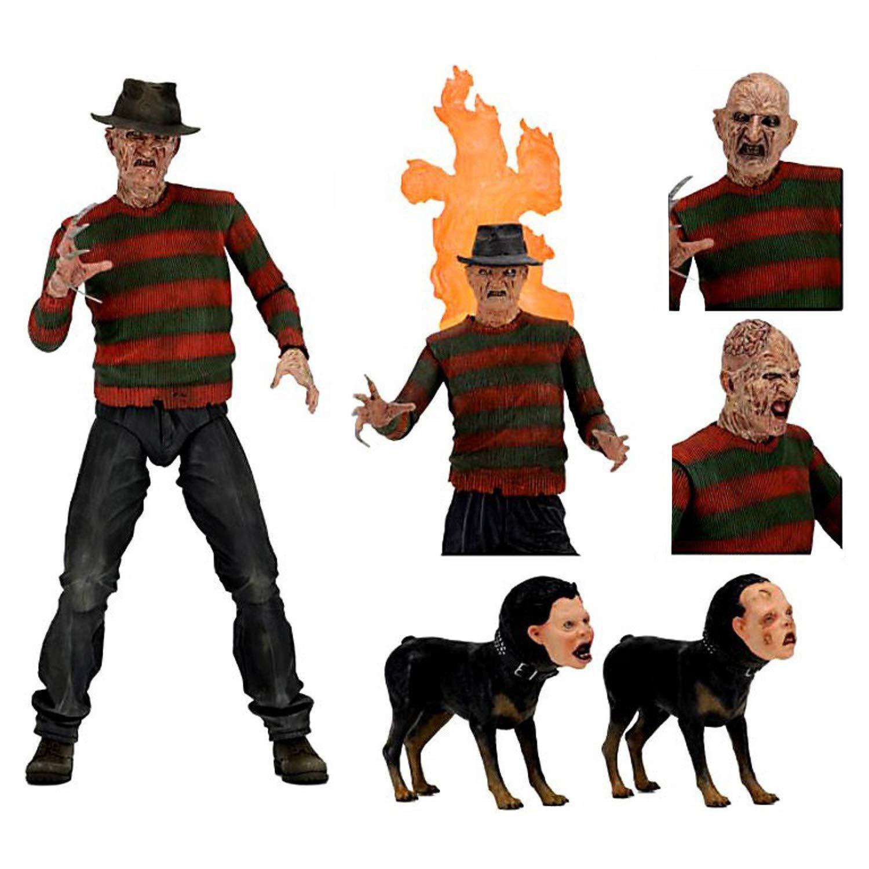 "NECA - Nightmare on Elm Street - 7"" Ultimate Action Figure - Part 2 Freddy"