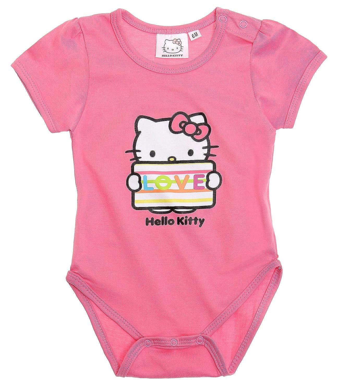 Hello Kitty Babies Body neonato - rosa