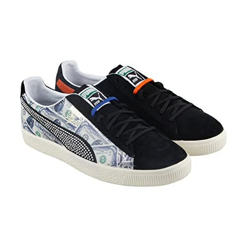 sports shoes c0085 2146a Amazon.com | PUMA Clyde X Mita Mens Black Suede Lace Up Lace ...