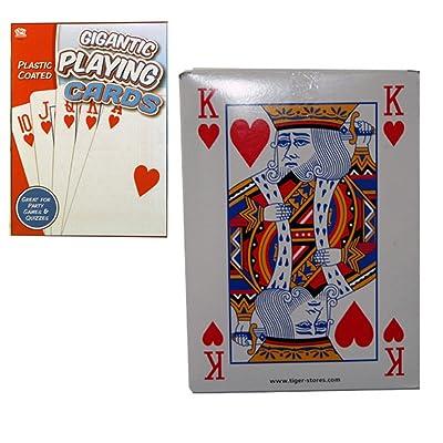A to Z 08016 - Gigante Juego de Cartas: Juguetes y juegos