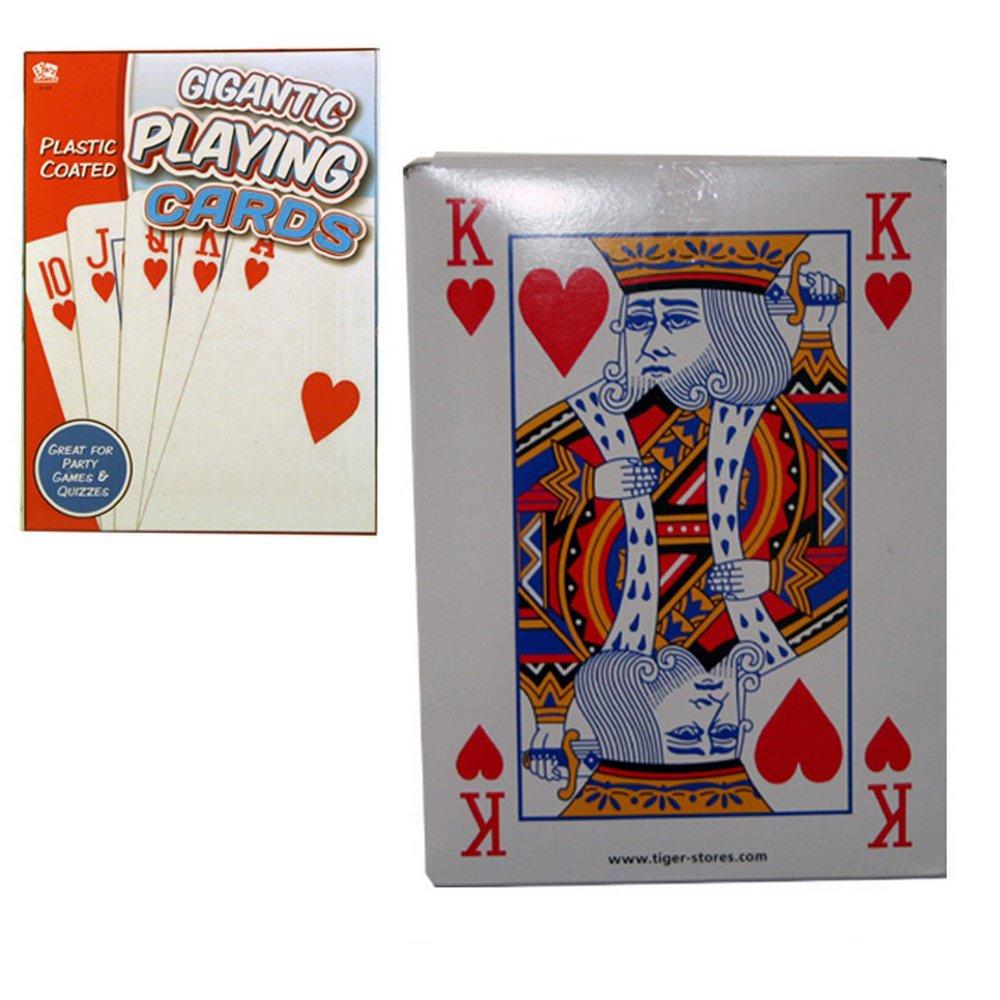 Tobar 08969 Juego de cartas gigantes