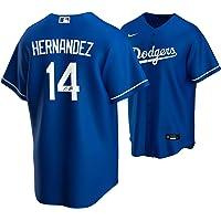 $299 » Enrique Hernandez Los Angeles Dodgers 2020 MLB World Series Champions Autographed Nike Blue Replica World Series Logo Jersey - Autographed…