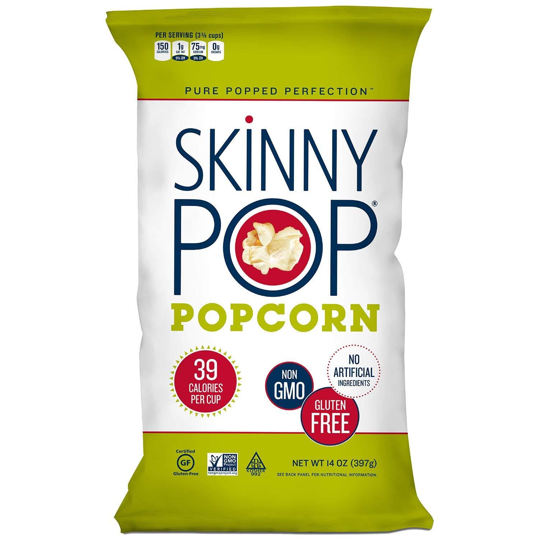 Original Skinny Pop, All Natural Popcorn Gluten FREE - NON GMO 14 oz