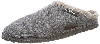 64bc9aa5853df Giesswein Womens Dannheim Grey Wool Sandals 38 EU
