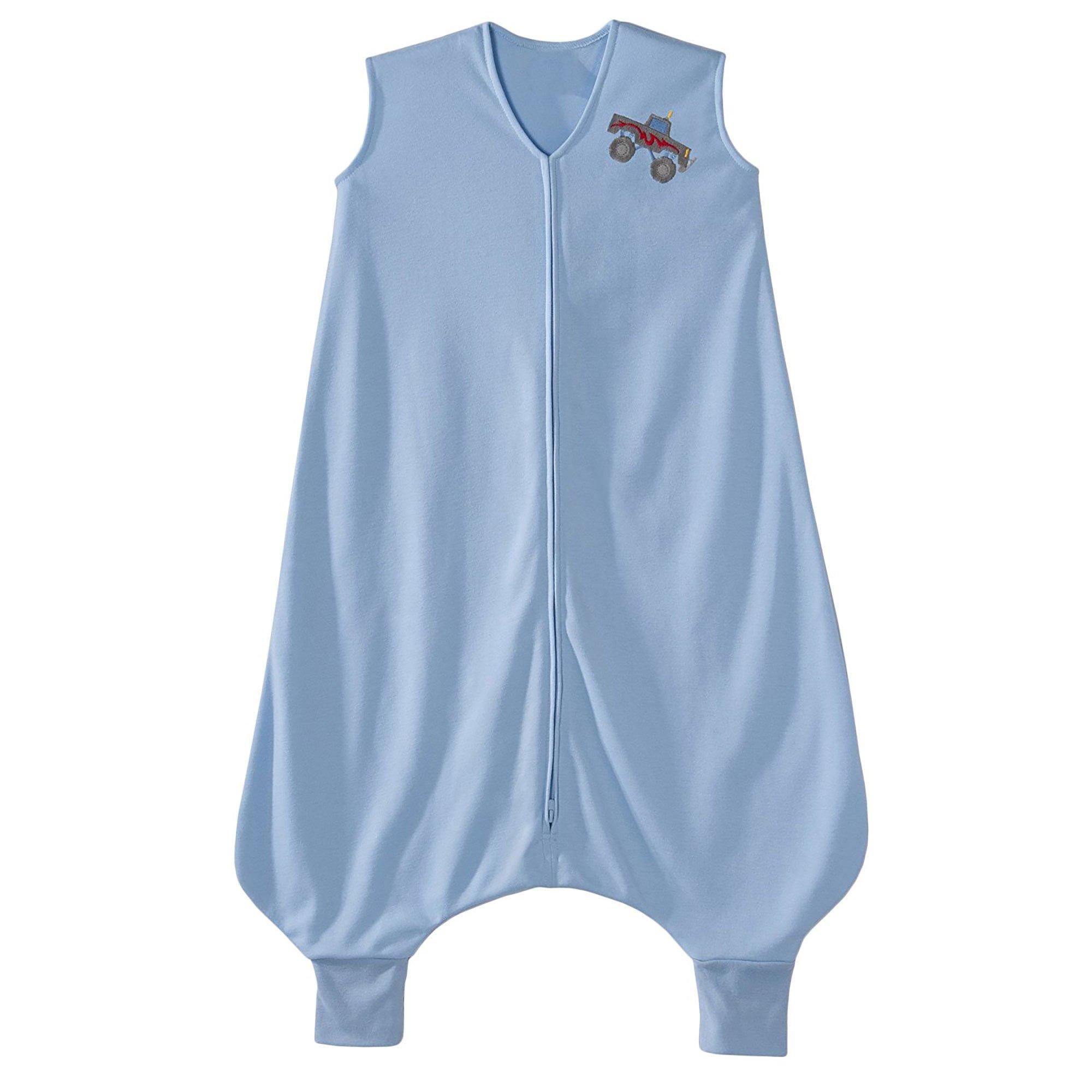 HALO Big Kids Sleepsack Lightweight Knit Wearable Blanket, Blue, 2-3T by Halo