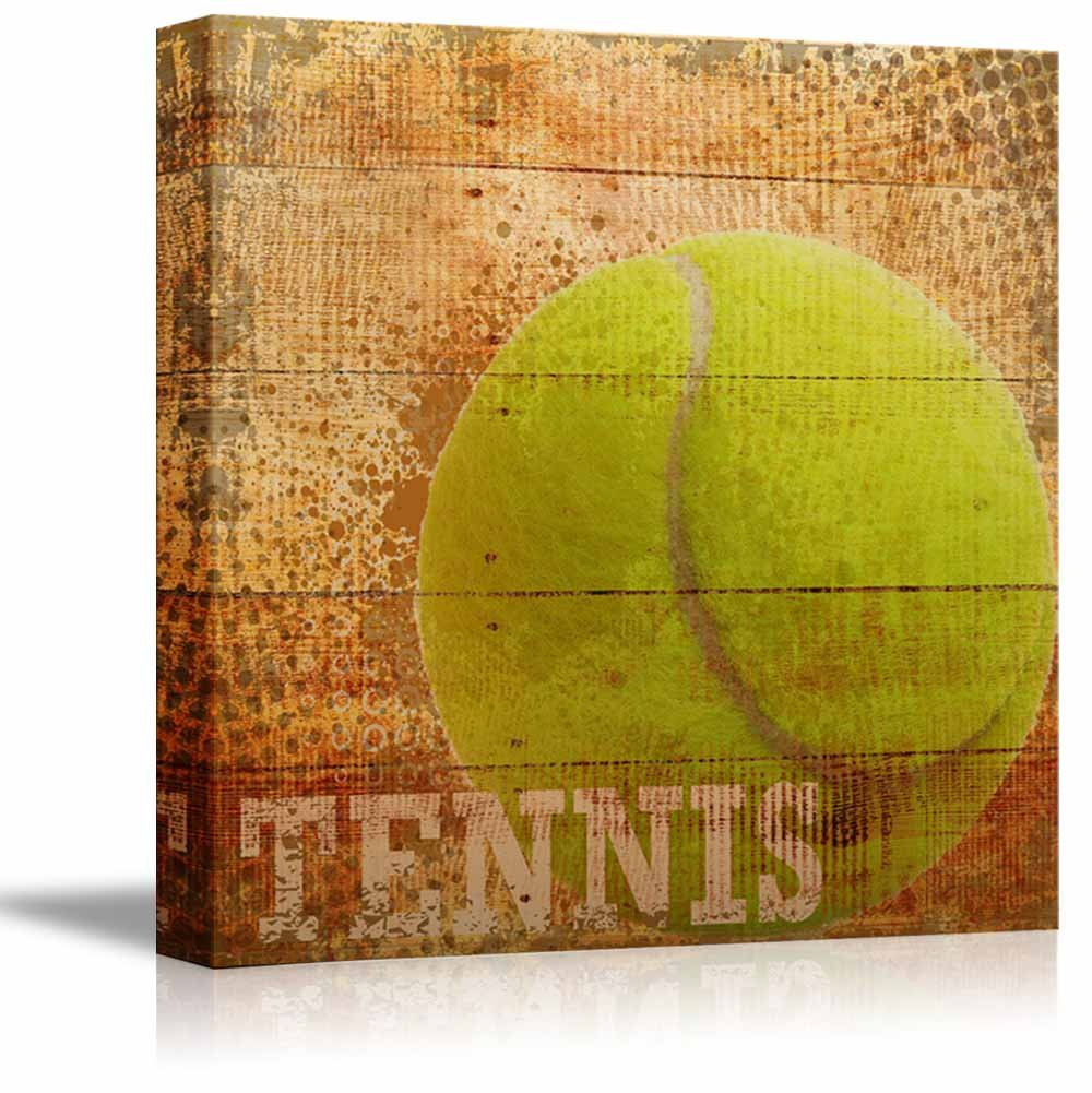 Tennis Americana Patriotic Tennis Sport Grunge Flag - Canvas Art ...