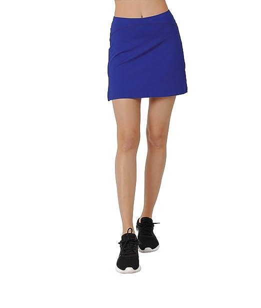 Honofash Falda de Golf Tenis Skort Mujer Negra Negra Pantalón Ropa Padel Running Corta Moda Deportivas Short: Amazon.es: Ropa y accesorios