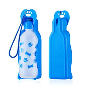 ANPETBEST Dog Water Bottle 325ML /11oz Travel Water Bottle Water Dispenser Portable Mug for Dogs,Cats and Other Small Animals
