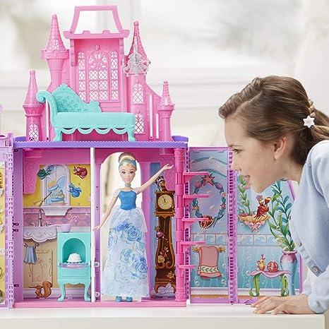 43dec0f6d Amazon.es: Disney Princess - Castillo Maletín + Cenicienta Brillo ...
